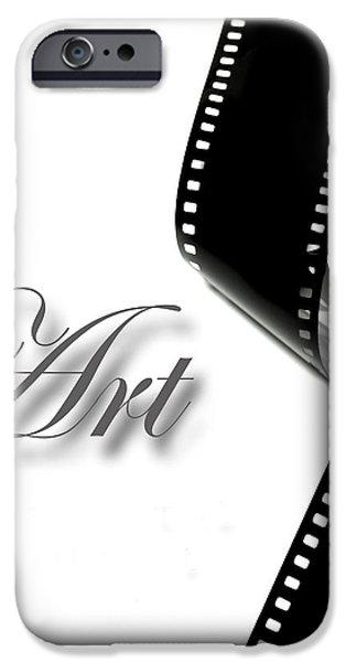Art Film Strip iPhone Case by Lane Erickson