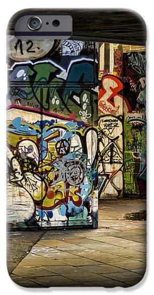 Art of the Underground iPhone Case by Heather Applegate
