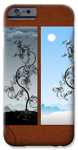Art on the Wall iPhone Case by Gianfranco Weiss