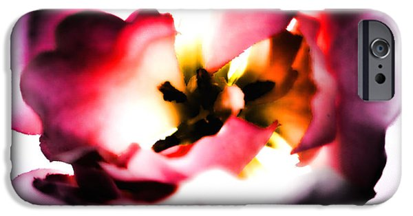 Artificial Flowers iPhone Cases - Artificial Beauty iPhone Case by Sharon Lisa Clarke