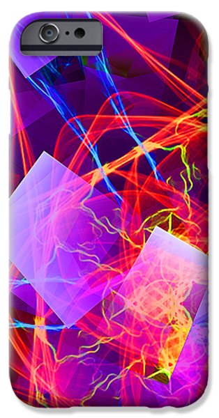 Virtual Paintings iPhone Cases - Artificial Intelligence iPhone Case by Thomas Bryant