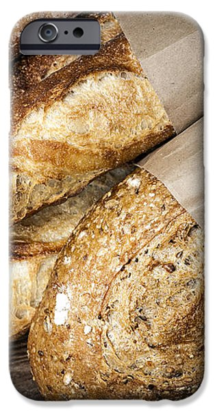 Artisan bread iPhone Case by Elena Elisseeva