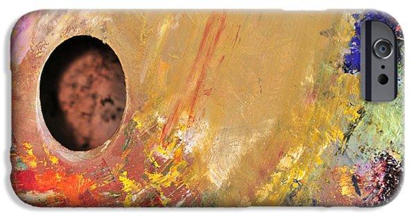 Painter Photographs iPhone Cases - Artist Palette 1 iPhone Case by Angela Bonilla