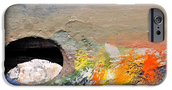 Painter Photographs iPhone Cases - Artist Palette 2 iPhone Case by Angela Bonilla