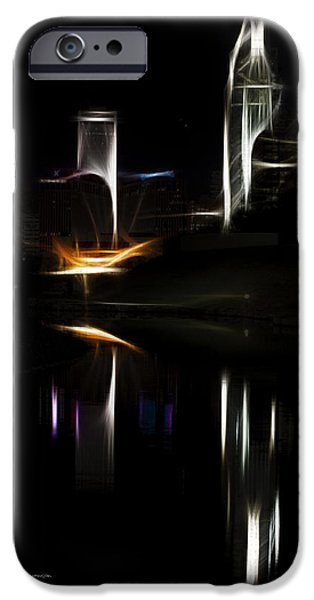 Jeff Swanson iPhone Cases - Artistic Omaha iPhone Case by Jeff Swanson