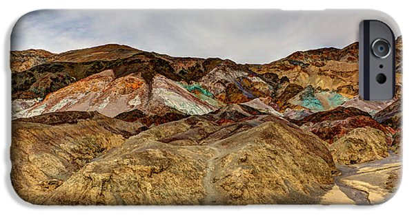 Fieldstone iPhone Cases - Artists Paint Palette iPhone Case by Heidi Smith