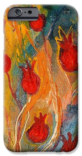Artwork fragment 11 iPhone Case by Elena Kotliarker
