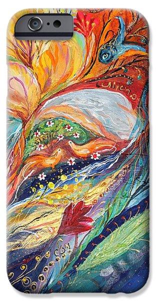 Artwork Fragment 16 iPhone Case by Elena Kotliarker