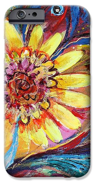 Artwork Fragment 42 iPhone Case by Elena Kotliarker