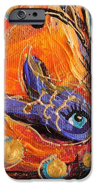 Artwork Fragment 88 iPhone Case by Elena Kotliarker