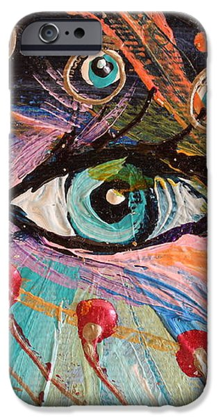 Artwork Fragment 90 iPhone Case by Elena Kotliarker