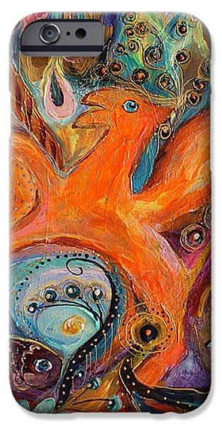 Artwork Fragment 99 iPhone Case by Elena Kotliarker