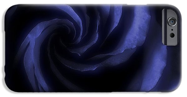 Blue iPhone Cases - As A Deep Blue Sea iPhone Case by  The Art Of Marilyn Ridoutt-Greene