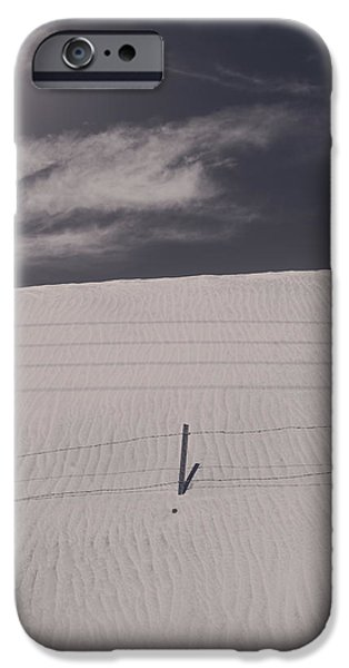 Sand Dunes iPhone Cases - As Days Go By iPhone Case by Laurie Search