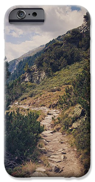 As Far As My Feet Will Carry Me iPhone Case by Thomas Richter