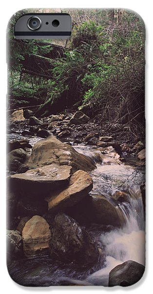 Water Flowing iPhone Cases - As Free As This iPhone Case by Laurie Search