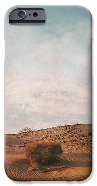As the Sand Shifts So Do I iPhone Case by Laurie Search