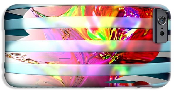 Etc. Digital Art iPhone Cases - As The World Turns iPhone Case by HollyWood Creation By linda zanini