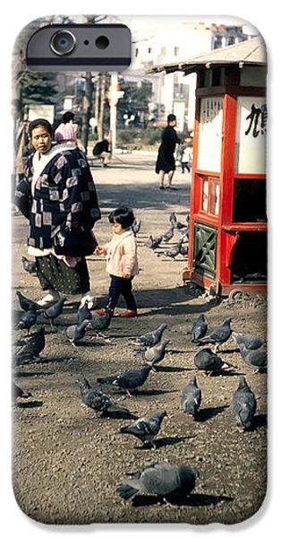 Asakusa Street Scene 2 iPhone Case by The  Vault - Jennifer Rondinelli Reilly