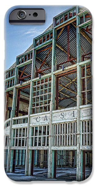Asbury Park Casino iPhone Cases - Asbury Park Casino And Carousel House iPhone Case by Lee Dos Santos