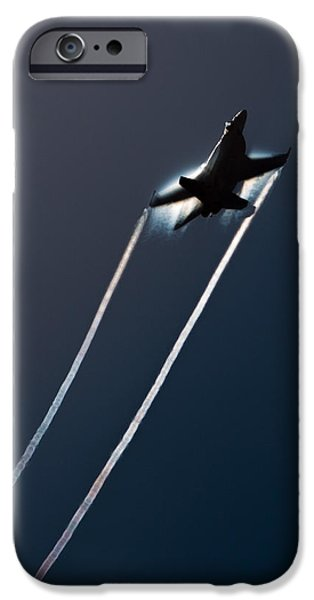 F-18 iPhone Cases - Ascending to the Heavens iPhone Case by John Daly