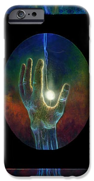 Ascension of the Soul iPhone Case by Kd Neeley