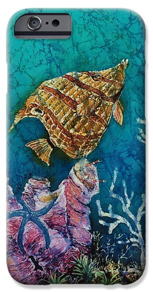 Ocean Tapestries - Textiles iPhone Cases - Ascent  iPhone Case by Sue Duda