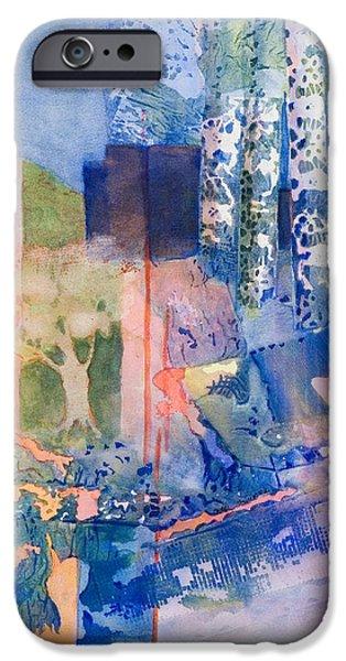 Quaker Paintings iPhone Cases - Aspen iPhone Case by Carol Schinkel