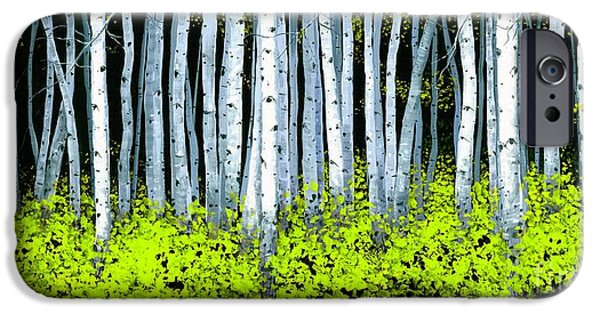 Michael Swanson iPhone Cases - Aspen II iPhone Case by Michael Swanson