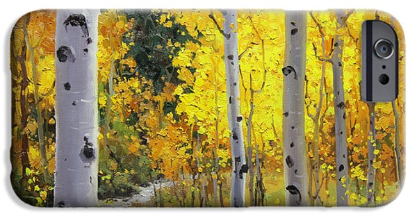 Fineart iPhone Cases - Aspen Stream iPhone Case by Gary Kim