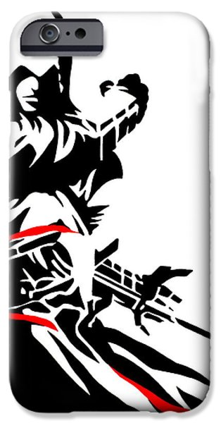 Unity Paintings iPhone Cases - Assassins Creed iPhone Case by Ian  King