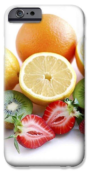 Assorted fruit iPhone Case by Elena Elisseeva