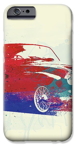 Aston Martin DB2 iPhone Case by Naxart Studio