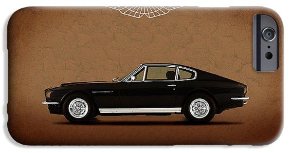 V8 iPhone Cases - Aston Martin DBS V8 iPhone Case by Mark Rogan