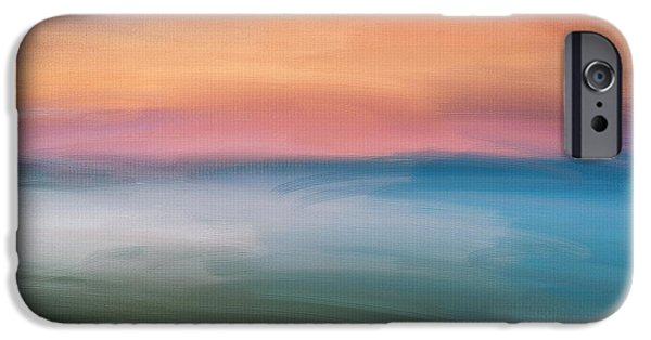 Abstract Seascape iPhone Cases - Astound iPhone Case by Lourry Legarde