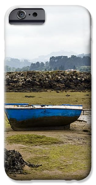 Asturias Seascape With Boats iPhone Case by Frank Tschakert