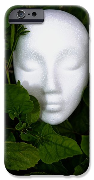 At Poster Mixed Media iPhone Cases - At One With iPhone Case by Gustave Kurz