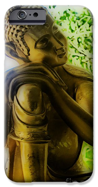 At Peace iPhone Case by Cheryl Young