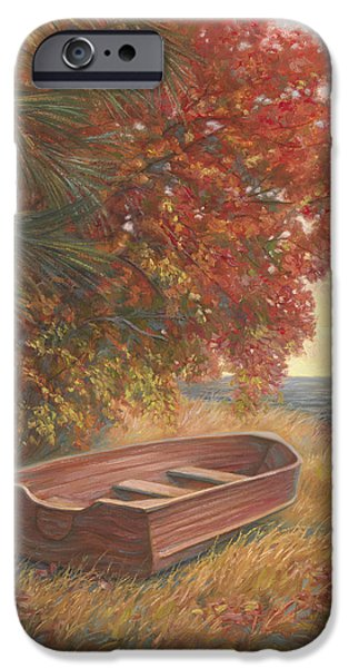 At Rest iPhone Case by Lucie Bilodeau