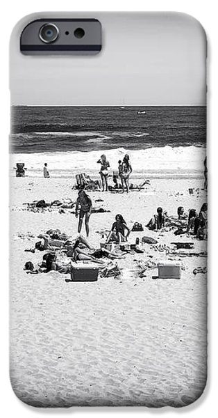 At the Beach iPhone Case by John Rizzuto