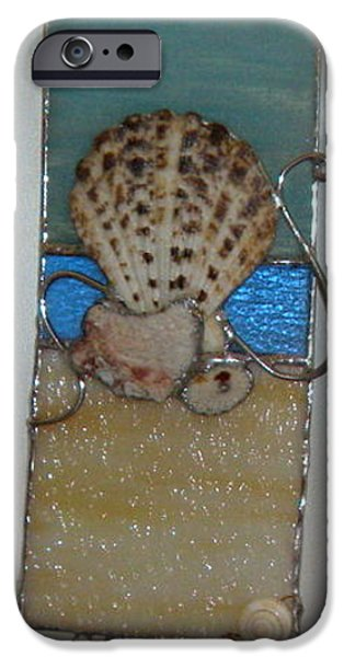 Small Glass iPhone Cases - At the Beach iPhone Case by Nora Solomon