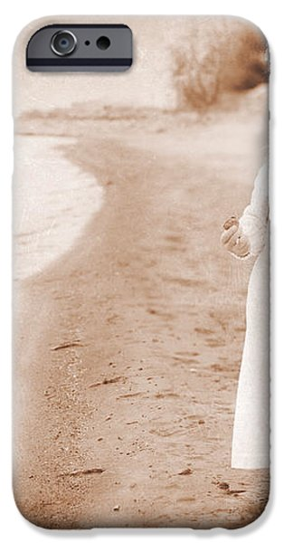 At the Waters Edge iPhone Case by Cindy Singleton