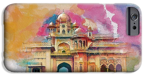 Pakistan iPhone Cases - Atchison College iPhone Case by Catf