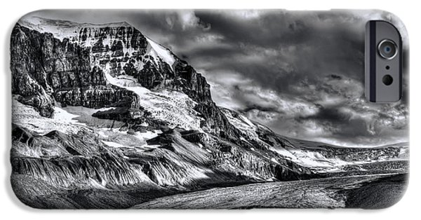 National Gallery Art iPhone Cases - Athabasca Glacier iPhone Case by Wayne Sherriff