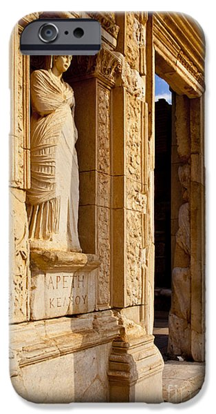 Ephesus iPhone Cases - Athena at Ephesus iPhone Case by Brian Jannsen
