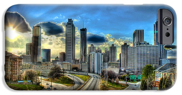 The Best Sunset iPhone Cases - Atlanta 2013 Sunset iPhone Case by Reid Callaway