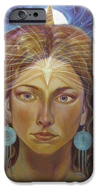 Inner Self Paintings iPhone Cases - Atlantia iPhone Case by Vera Atlantia