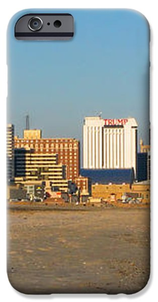 Atlantic City at Sunset iPhone Case by Olivier Le Queinec