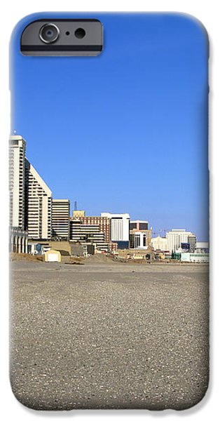 Atlantic City New Jersey iPhone Case by Olivier Le Queinec
