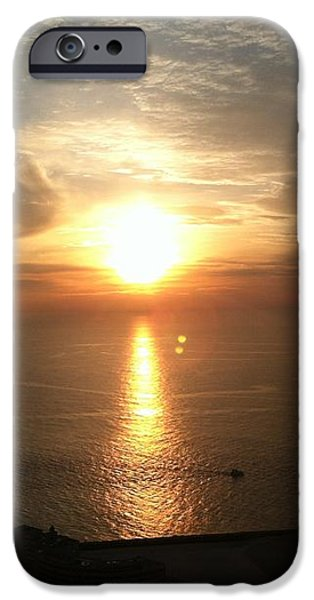 Atlantic City Sunset iPhone Case by JOHN TELFER